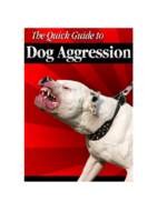 a quick guide to dog aggression 2018